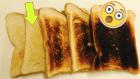 tostada Tostadas quemadas pueden provocar cáncer