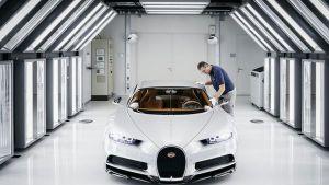 bugatti chiron Así se construye el mejor carro del mundo