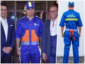 jose jhan uniforme El nuevo flow de los empleados del ADN