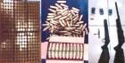 municiones armas Armas, vainas militares y droga en muelle de Haina