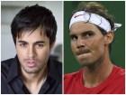 collage Enrique Iglesias y Rafael Nadal con nuevo picoteo