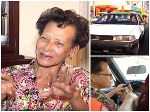 dona dominicana Doña dominicana se gana la vida conchando