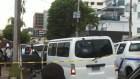 evaristo morales Juyendo de la Policía iba el tipo que asesinó mujer en la capital