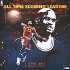 lebron james LeBron James rompe marca de Shaquille ONeal
