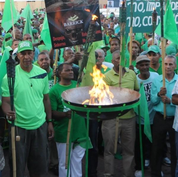 llama verde1 Marcha Verde: La advertencia a Danilo