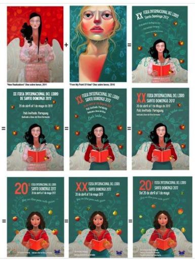 pelo Más sobre el lío por el cartel de la Feria del Libro Santo Domingo