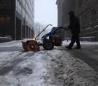 tormenta nieve1 EEUU: Tormenta de nieve deja sin luz a pila'e gente