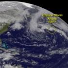arlene Por ahí viene Arlene: Primera tormenta tropical del 2017
