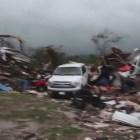 car Tornados golpearon a Texas
