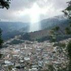 colombia Figura de Jesús donde murieron 17 personas en Colombia