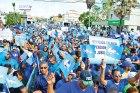 maestros protesta aumento salarios El 4% del PIB para educación abre apetito salarial de los maestros