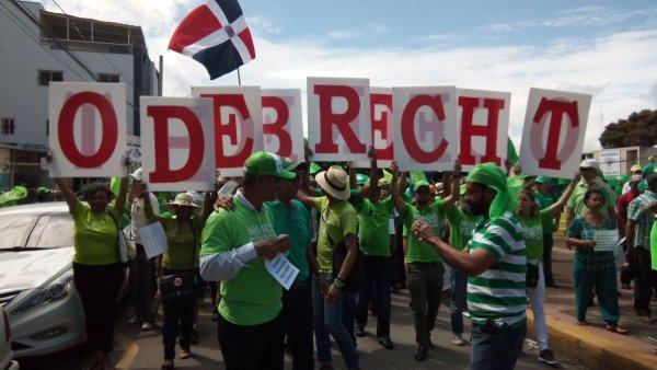 marcha verde La Marcha Verde en San Francisco de Macorís