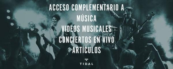 tidal latinmusic tw 2 Música por un tubo  TIDAL dando acceso GRATIS en America Latina