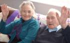 wilf russell 1 Casados por 70 años mueren sólo a cuatro minutos de diferencia