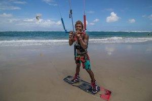 adeuri corniel Joven dominicano; promesa del kitesurf