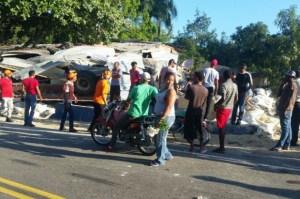 dajabc3b3n Patana se mete a una casa en Dajabón; siete heridos