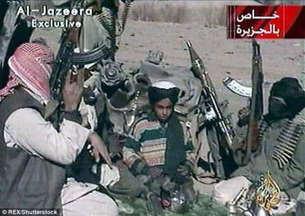 hamza 2 Buehh   El hijo de Bin Laden quiere vengar a su padre