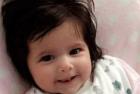 holly La chichí que nació con tanto pelo que apareció en el ultrasonido