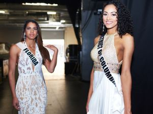 linnette de los santos La dominicana que compite por el título de Miss USA 2017