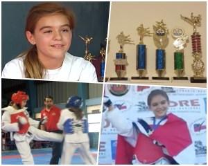 nina1 Niña radicada en RD, tres veces campeona taekwondo