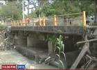 puente santiago Puente en Santiago por derrumbarse
