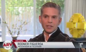 rodner figueroa1 La primera entrevista de Rodner Figueroa desde que salió de Univision