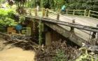 villa tapia Puente a punto de colapsar en Villa Tapia