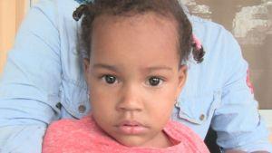 Ayudemos a esta niña dominicana