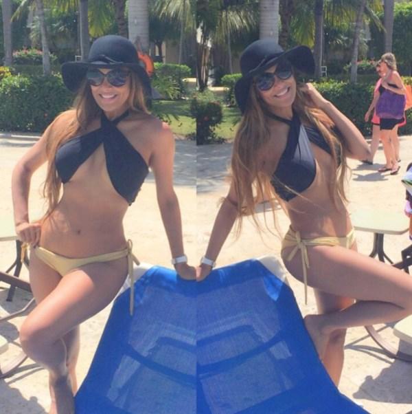 1 Fotos: Figuras populares dominicanas bikiniando en Semana Santa