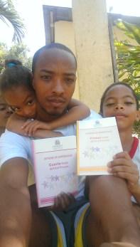 Soy robert mi hija Roberlin y mi hijo Roberson