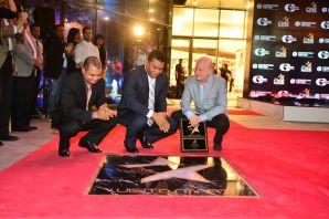 homenaje a luisito marti Paseo de la fama para estrellas dominicanas