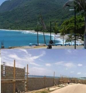 Barahona 300x324 El muro que daña la vista en Barahona