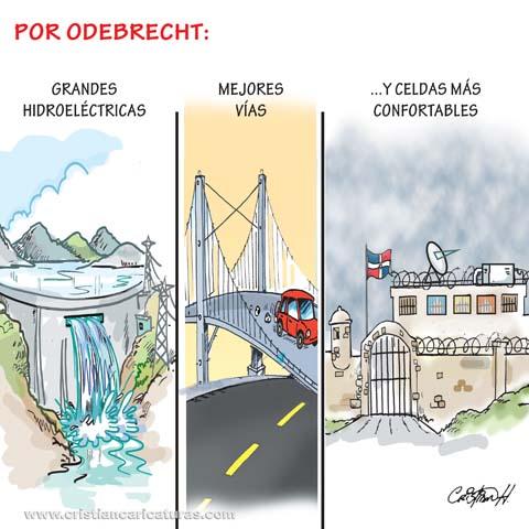 Odebrecht Caricatura: A través de Odebrecht...