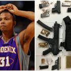 Sebastian Telfair 150x150 Arrestan a ex jugador de la NBA con pila de armas y marihuana