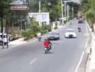 Tamboril 300x226 Muertorista y pasajero se salvan a chepita (video)