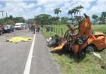 accidente 150x105 Trágico accidente en Río San Juan