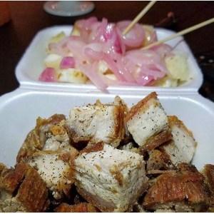 chicharron yuca 300x300 Fritura Friday: Chicharrón con yuquita y cebolla