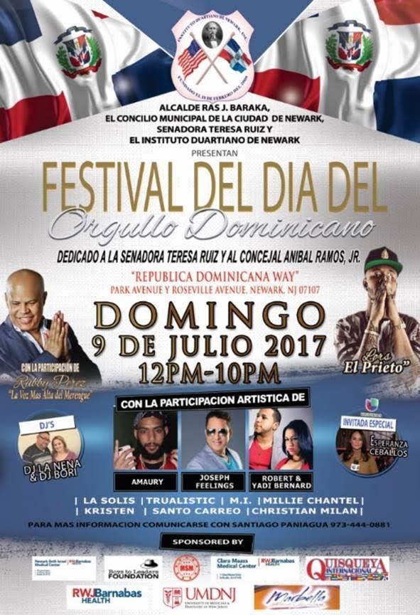 new Evento en NJ:Festival del Dia del Orgullo Dominicano
