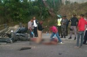 prolongación 27 de Febrero 300x199 Estas son las 4 víctimas del accidente en la Prolongación 27 de Febrero
