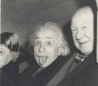 Albert Einstein 300x263 La historia de la foto de Albert Einstein sacando la lengua