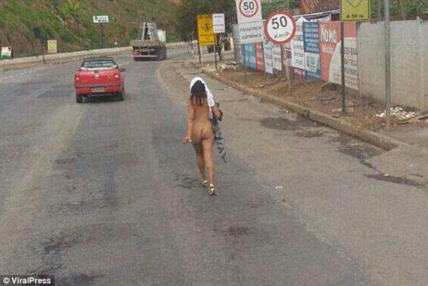 Brasil 2 600x401 Jeva encuera en carretera de Brasil; conductores loquitos