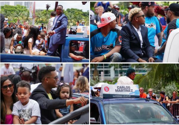 Peloteros dominicanos 600x418 Peloteros dominicanos en chercha previo a Juego de Estrellas