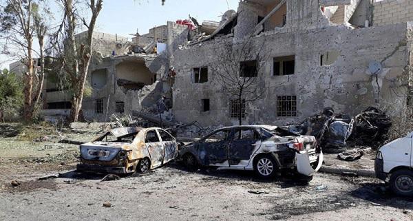atentado 600x321 19 muertos por atentado en Damasco