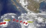 huracan hilary 150x93 Huracán 'Hilary' toma Forty Malt; sube a categoría 2