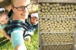 mujer 4 150x100 El caso de la jeva que produce casi dos galones de leche materna al día