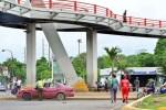 puente peatonal 150x100 Muchos dominicanos no tan muy claros con las multas a pie