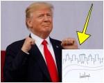 trump 1 150x120 Subastarán un dibujo muy raro hecho por Trump
