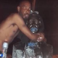 El freco' que se pasó con estatua de Duarte