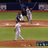 Video - Nelson Cruz pega el jonrón más largo en play de Tampa