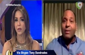 Tony Dandrades 300x196 Tony Dandrades explica su crítica a la TV dominicana